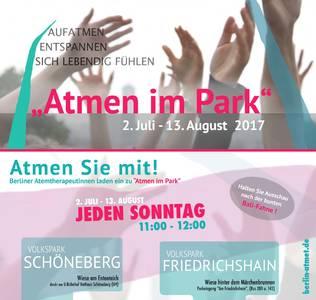 Atmen im Volkspark Schöneberg