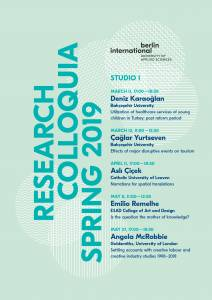 Research Colloquia