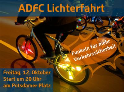ADFC Lichterfahrt - Festival of Lights - Funkeln für mehr Ve...