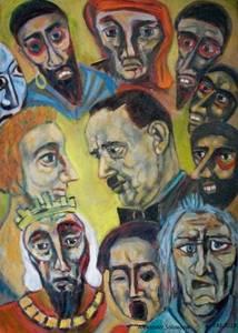 Vernissage: Alexander Solowjow - Ölmalerei - Die Geschichten...