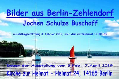 """""""Bilder aus Berlin-Zehlendorf"""" in der Kirche zur H..."""
