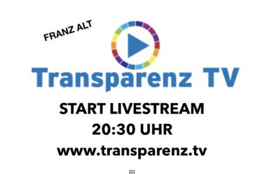 Live-Sendung mit Franz Alt aus Berlin: DER KAMPF UM DEN FEIN...
