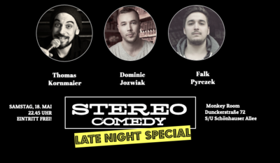STAND UP COMEDY SHOW | Stereo Comedy - Samstagabend Spezial ...