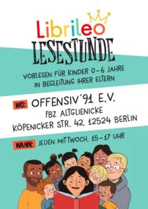 Librileo Lesestunde im FBZ Altglienicke