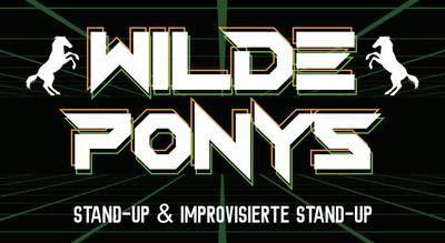 """Stand-up Comedy • in P-Berg • 20.00 Uhr • """"WILDE PONYS&..."""