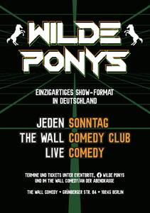 "STAND-UP COMEDY • F-Hain • 20 Uhr | ""Wilde Ponys"" ..."