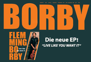 "Flemming Borby: EP Release Concert ""Live it Like You Wa..."