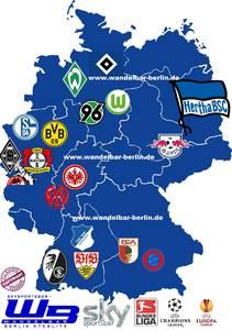 Bundesliga in deiner WandelBar der offiziellen Skysportsbar ...