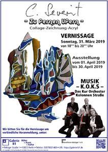 """Galerie B1 > Ausstellung """" Zu fernen Ufern """" Co..."""