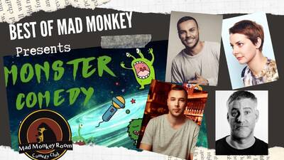 ★Best of Mad Monkey Comedy Show★ in Prenzlauer Berg - 20:00 ...