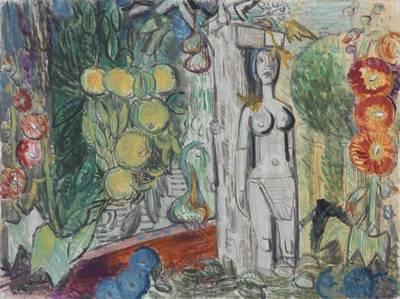 """Ausstellung: """"Charles Crodel - 50 Jahre Malerei und Gra..."""