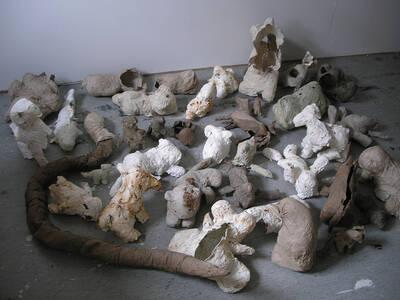 """New exhibition at Galerie Pleiku """"Mythology of Wastelan..."""