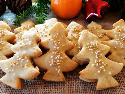 Weihnachtsbäckerei mit Kindern beim Kinder KOCHSPASS