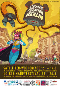 Comic Invasion Berlin Satelliten Wochenende