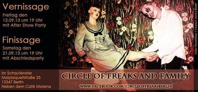 Circle of Freaks & Family (Comic&Art) - Ausstellung