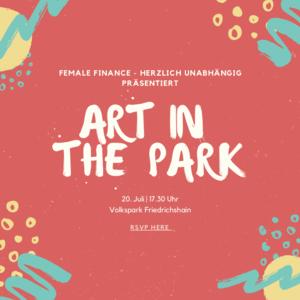 Art in the Park ft. Feeling Finances