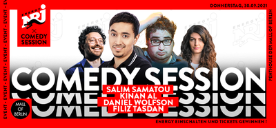 Die ENERGY Comedy Session