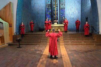 NoonSong-Highlights der a-cappella-Musik mit Werken von Sche...
