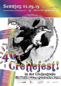 40. Crellestraßenfest in Schöneberg