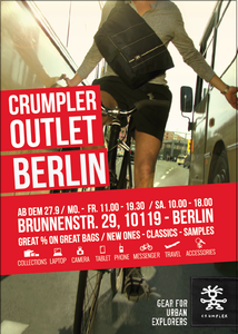 CRUMPLER eröffnet Pop-Up Outlet in Berlin Mitte