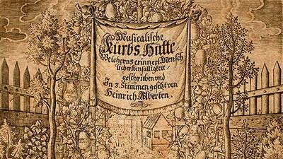 Heinrich Albert: Musicalische Kürbs-Hütte, Königsberg 1645