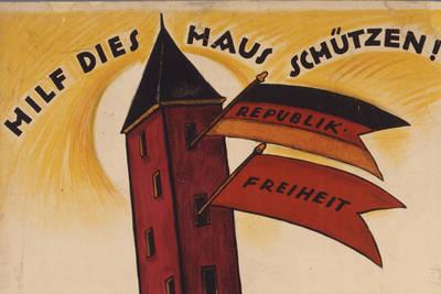 100 Jahre Erlass der Weimarer Verfassung. Eintritt, Führunge...