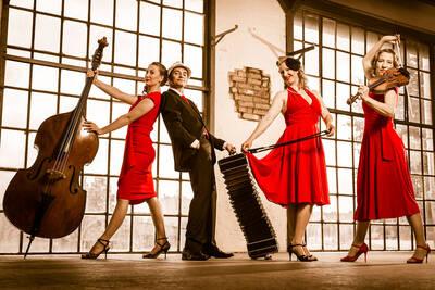 """Tango von Piazzolla & Co. - Konzert mit dem """"Cuarteto Ro..."""