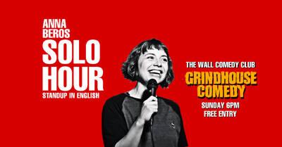 GRINDHOUSE Comedy: Anna Beros Solo Hour auf Englisch um 18:0...