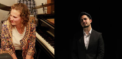 Jazz-Duo Danielle Friedman (piano) + Aviv Noam (sax)