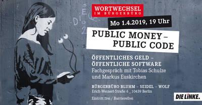 Public Money – Public Code