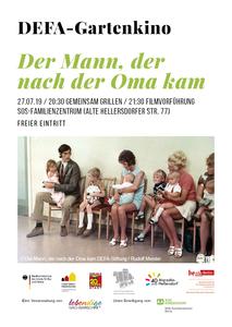 DEFA-Gartenkino: Der Mann, der nach der Oma kam