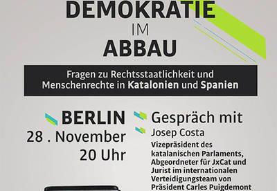 Demokratie im Abbau + Gespräch im Bayblon (Mitte)