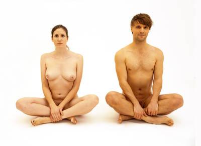 """Die Aktgalerie / """"Der nackte Mensch"""" von Fred Baum..."""