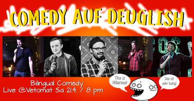 Comedy auf Deuglish - Deutsch-Englische Comedyshow!