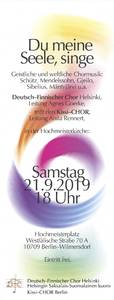Deutsch-Finnischer Chor in der Hochmeisterkirche – Internati...