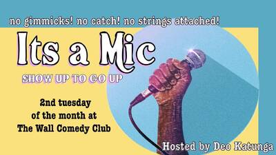 It's A Mic ENGLISH STAND UP COMEDY
