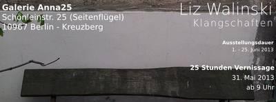 """Liz Walinski – """"Klangschaften"""""""