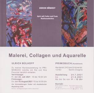 Ulrich Bülhoff  Malerei - Collagen - Aquarelle (Mo - Sa)