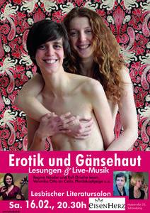 Lesbischer Literatursalon: Erotik und Gänsehaut