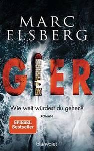 """Marc Elsberg liest aus """"Gier""""- 10. Krimimarathon B..."""