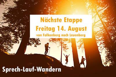Sprech-Lauf-Wandern in Brandenburg