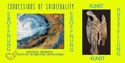 "Finissage der Ausstellung ""Expressions of Spirituality&..."