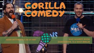 ''Gorilla Comedy Show'' -  Stand Up in ...