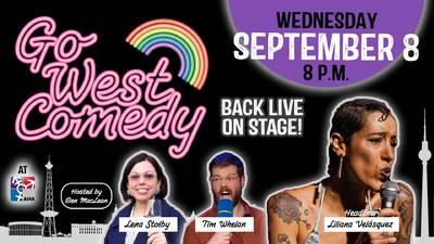 Go West Comedy - English Comedy Showcase