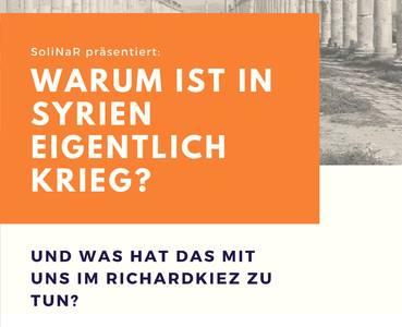 """Ausstellung """"Warum ist in Syrien eigentlich Krieg?""""..."""