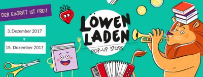 Löwenladen, der Pop-Up Store für Familien