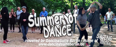 Gratis Lindy Hop lernen - Summer of Dance - Open Air Lesson