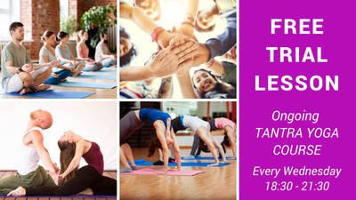 Free Trial Lesson Tantra Yoga Course in English