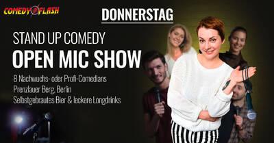 STAND UP COMEDY Show im Prenzlauer Berg - Comedyflash - Donn...