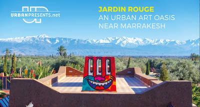vernissage foto ausstellung: jardin rouge, eine urban art oa...